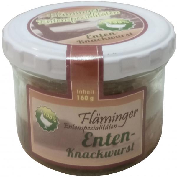 Fläminger Entenknackwurst