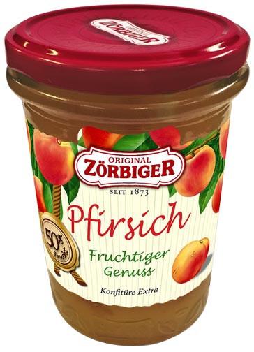 Original Zörbiger Pfirsich/ Konfitüre Extra