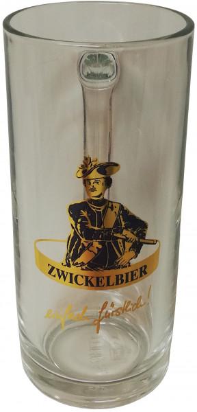 """Bierglas """"Zwickelbier"""" 500ml"""