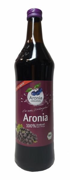 Bio Aroniabeeren Direktsaft von Aronia Original