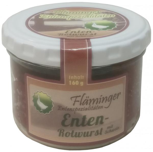 Fläminger Entenrotwurst