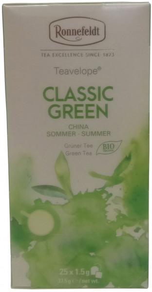 Ronnefeldt Classic Green BIO Teavelope®