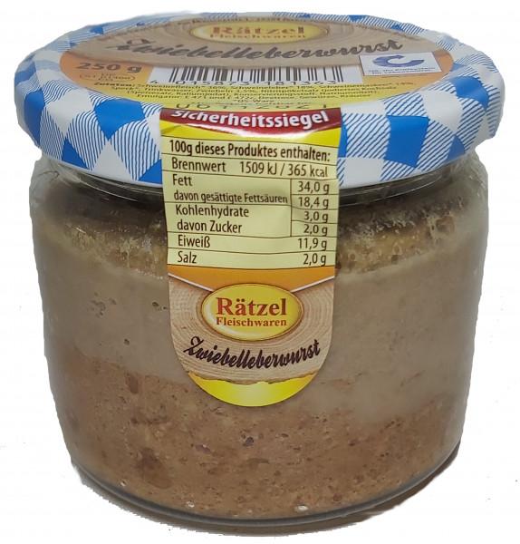 Zwiebelleberwurst
