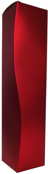 Präsentschatulle Metallic-Rot