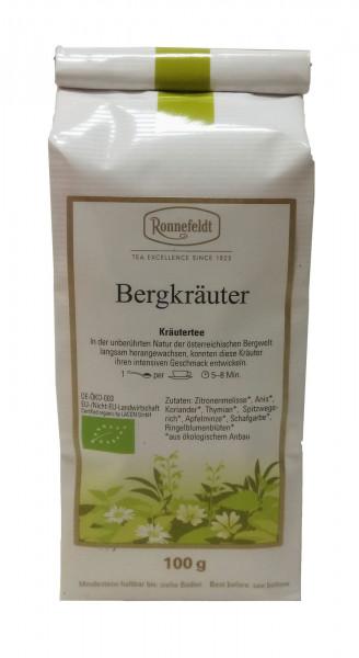 Ronnefeldt Bio Bergkräuter