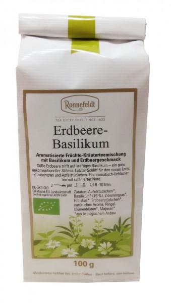 Ronnefeldt Bio Erdbeere Basilikum