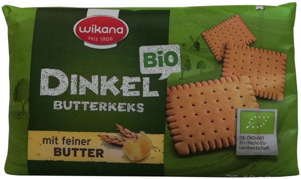 Wikana Bio Dinkel Butterkeks