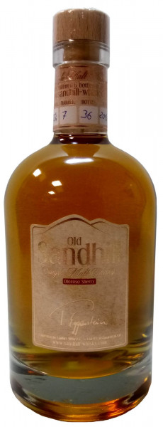 Old Sandhill Single Malt Whisky/ Oloroso Sherry