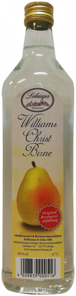 Loburger Williams Christ Birne