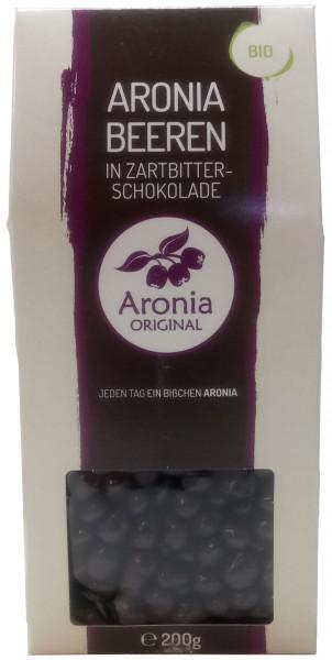 Bio Aroniabeeren in Zartbitterschokolade