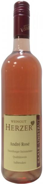 André Rosé Halbtrocken Qualitätswein