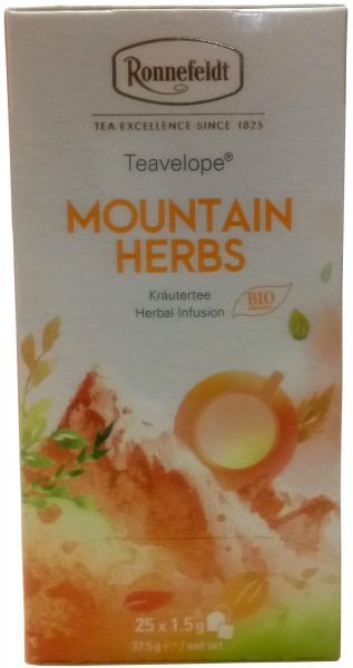 Ronnefeldt Mountain Herbs Teavelope®