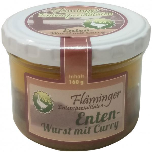 Fläminger Entenwurst mit Curry