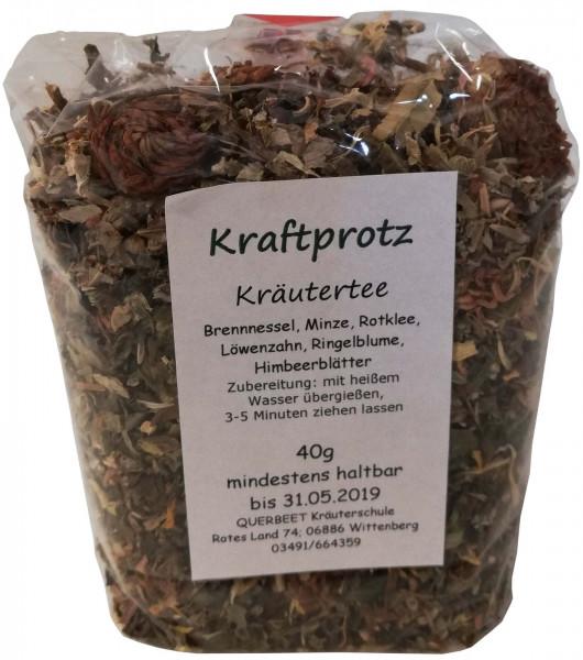Kraftprotz Kräutertee